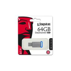 Usb 3.0 Kingston 64Gb DataTraveler 50 -Usb Memory Sticks στο Καταστήματα Κύβος