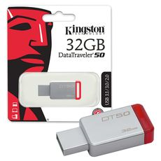 Usb 3.1/3.0/2.0 Kingston 32Gb DataTraveler 50 -Usb Memory Sticks στο Καταστήματα Κύβος