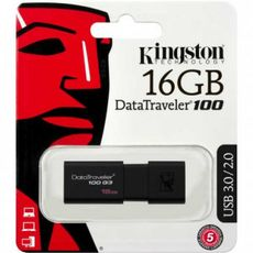 Usb Kingston Datatraveler DT100 G3 16GB 3.0 -Usb Memory Sticks στο Καταστήματα Κύβος