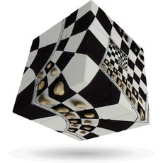 Chessboard Illusion V-Cube 3 Flat -Smart Games στο Καταστήματα Κύβος