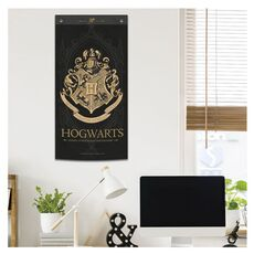 Wall Banner Harry Potter Hogwarts Black -Harry Potter στο Καταστήματα Κύβος
